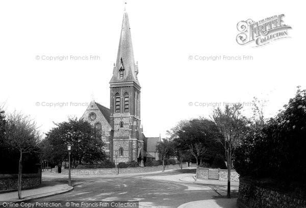 Photo of Worthing, Heene Church 1894