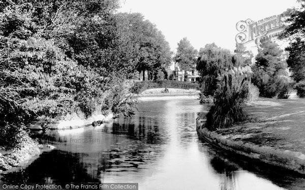 Photo of Worthing, Homefield Park 1921