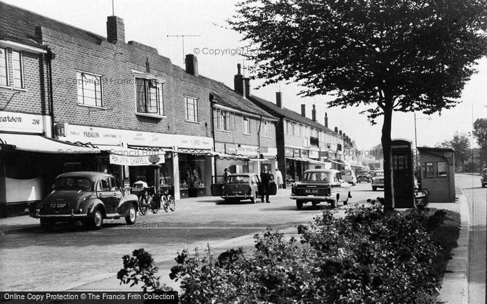 Photo of Worthing, Kings Parade, Findon Valley c.1965