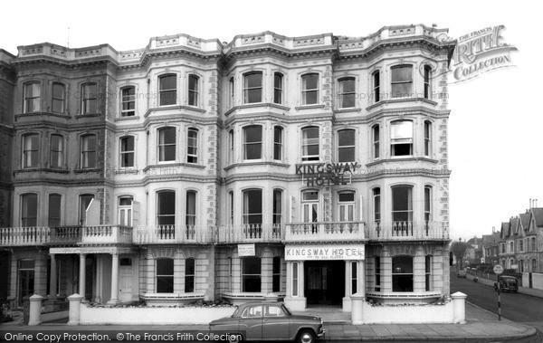 Photo of Worthing, Kingsway Hotel c.1955