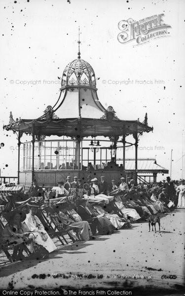 Photo of Worthing, Marine Parade Bandstand 1906