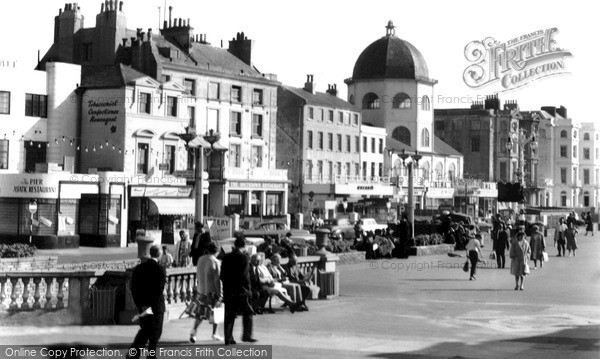 Photo of Worthing, Marine Parade c.1965