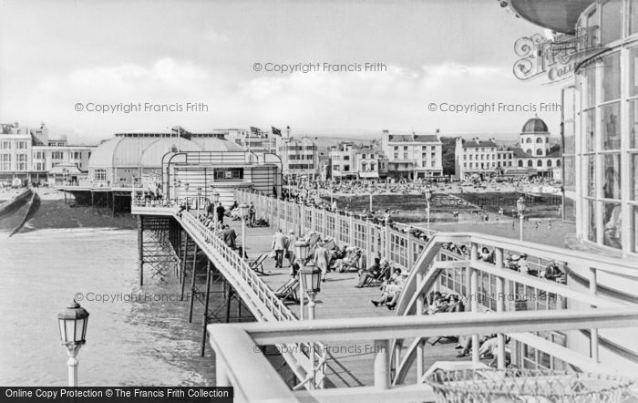 Photo of Worthing, On The Pier c.1955
