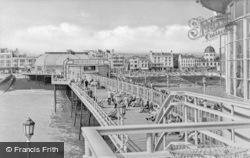 On The Pier c.1955, Worthing
