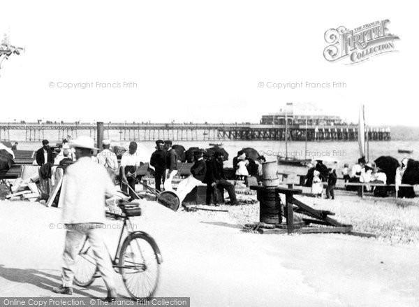 Photo of Worthing, Pier 1899