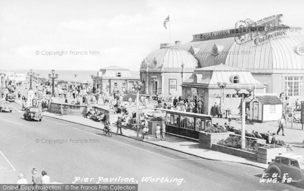 Photo of Worthing, Pier Pavilion c.1955