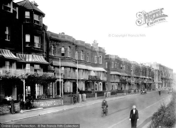 Photo of Worthing, Princes Terrace,  Marine Parade 1921