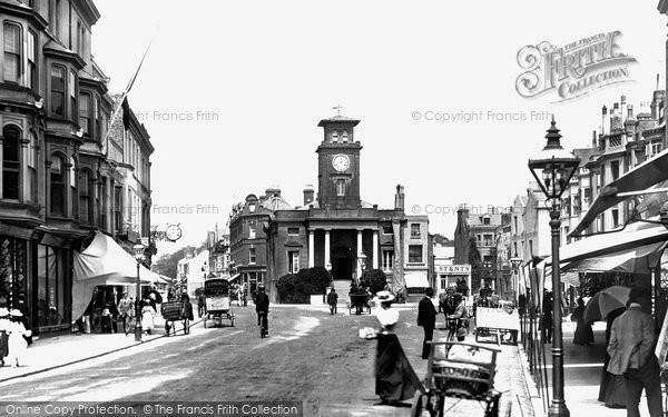 Photo of Worthing, South Street 1899