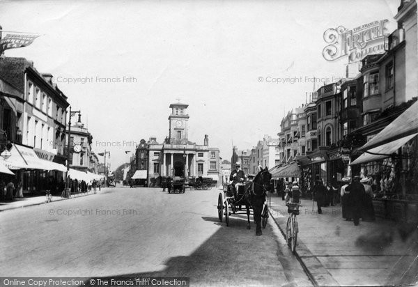 Photo of Worthing, South Street 1906