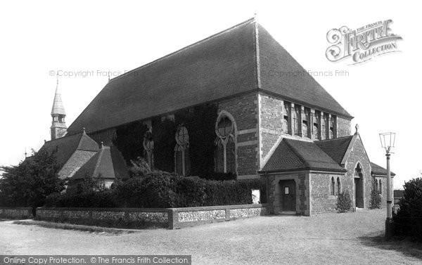 Photo of Worthing, St George's Church 1890