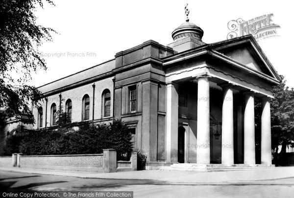 Photo of Worthing, St Paul's Church 1906