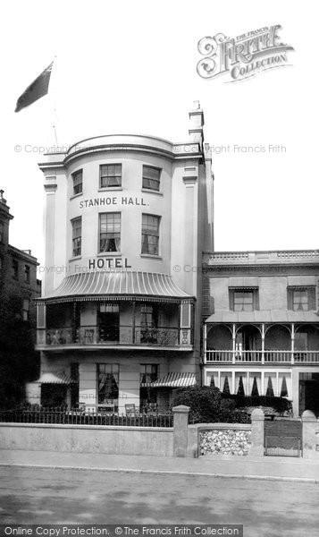 Photo of Worthing, Stanhoe Hall Hotel 1899