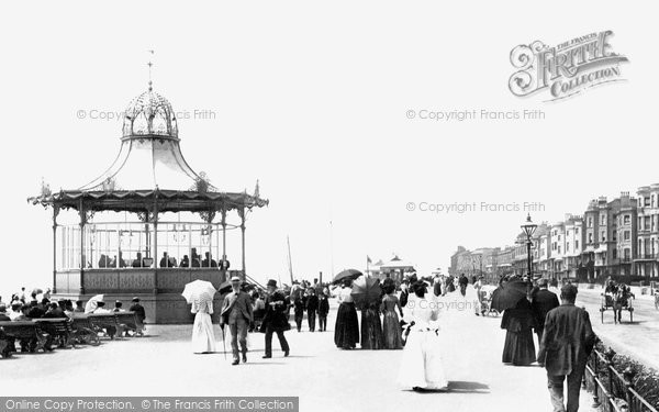 Photo of Worthing, The Bandstand 1899