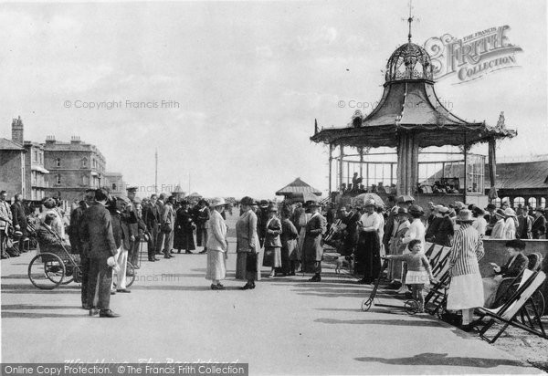 Photo of Worthing, The Bandstand 1921