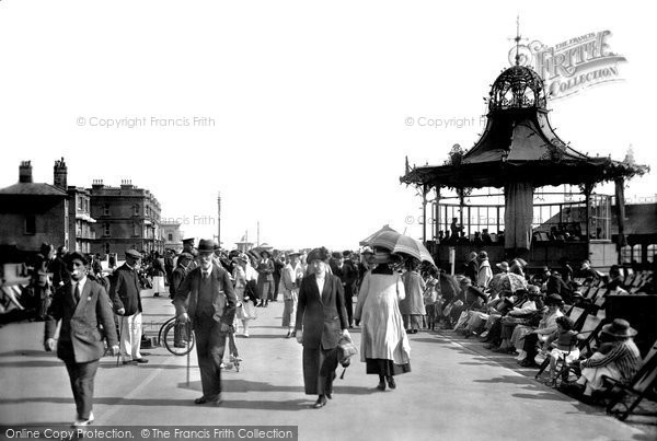 Worthing, The Bandstand 1921