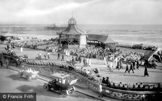 Worthing, the Bandstand and the Pier 1921