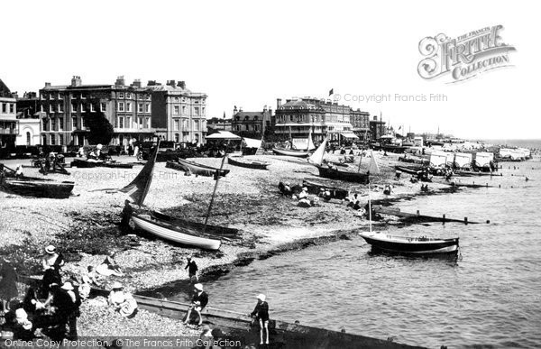Photo of Worthing, The Beach 1903