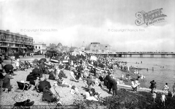 Photo of Worthing, The Beach 1925