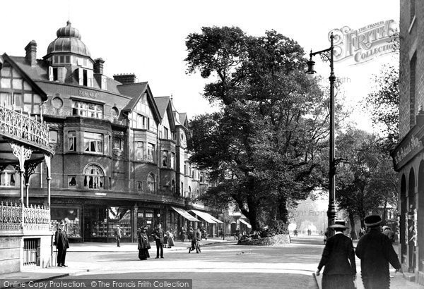 Photo of Worthing, The Broadway 1919