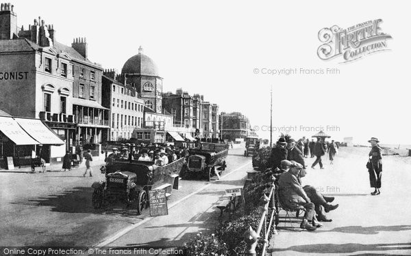 Photo of Worthing, The Dome And East Parade 1921