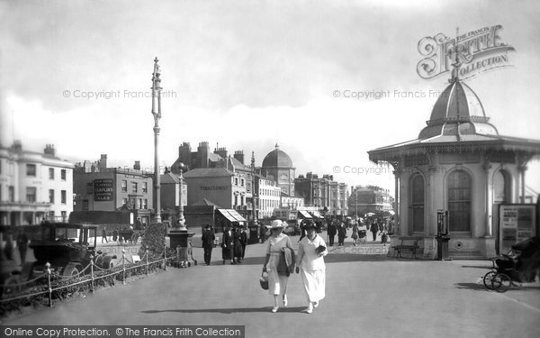 Photo of Worthing, The Dome From The Pier Entrance 1921
