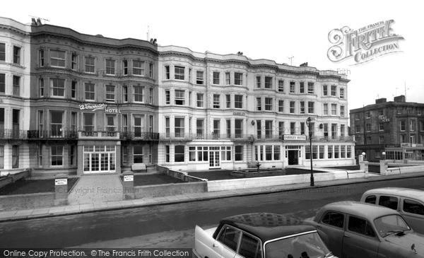 Photo of Worthing, The Eardley Hotel c.1965