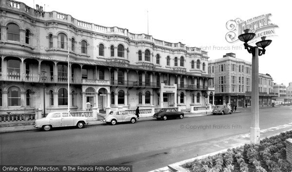 Photo of Worthing, The Moorlands And Clear View Hotels c.1965