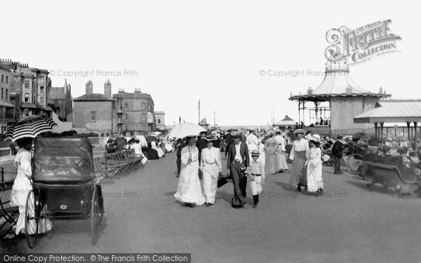 Photo of Worthing, The Parade 1903