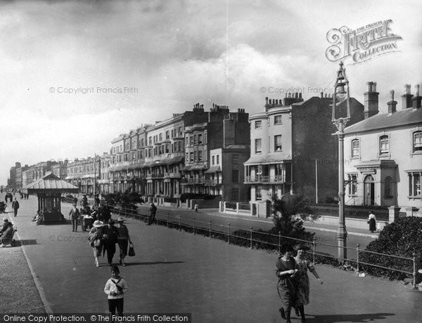 Photo of Worthing, The Parade 1921