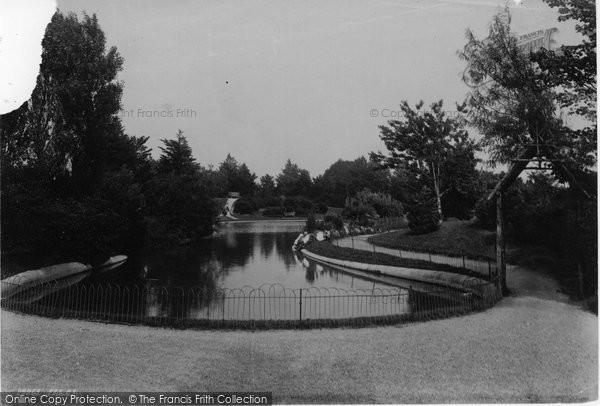 Photo of Worthing, The Park 1892