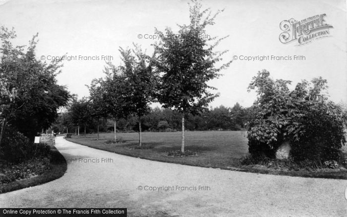 Photo of Worthing, The Park 1892