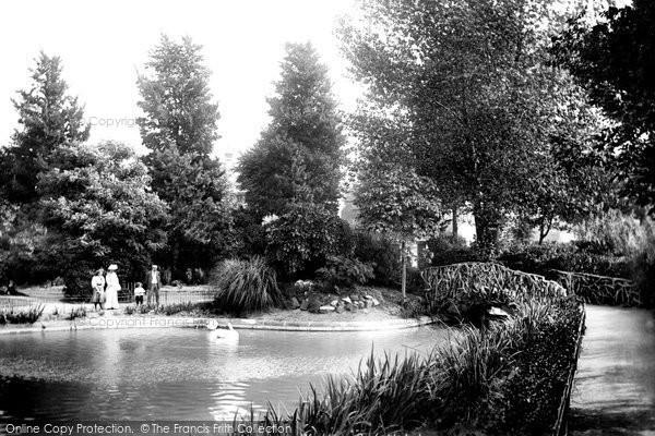 Photo of Worthing, The Park 1906