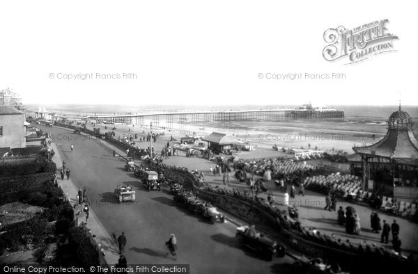 Photo of Worthing, The Pier And Bandstand 1921