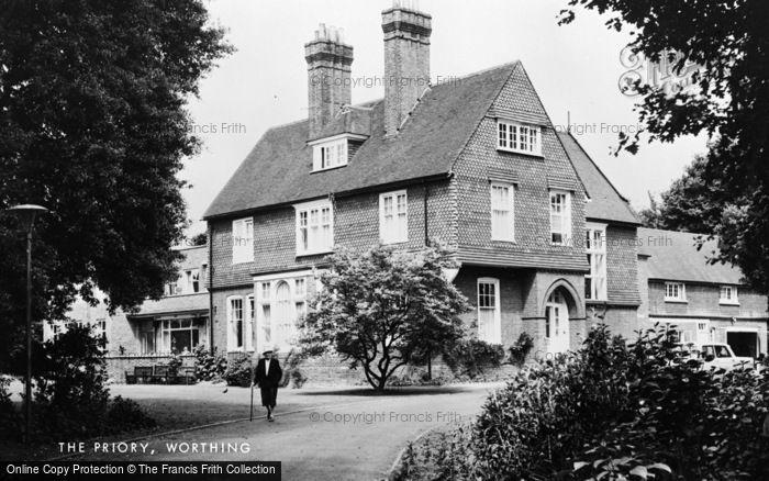 Photo of Worthing, The Priory c.1965