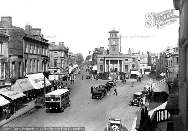 Photo of Worthing, Town Hall 1919