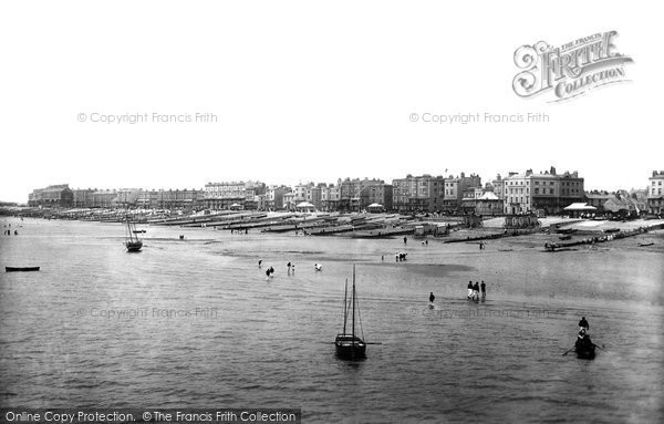 Photo of Worthing, View From The Pier 1899