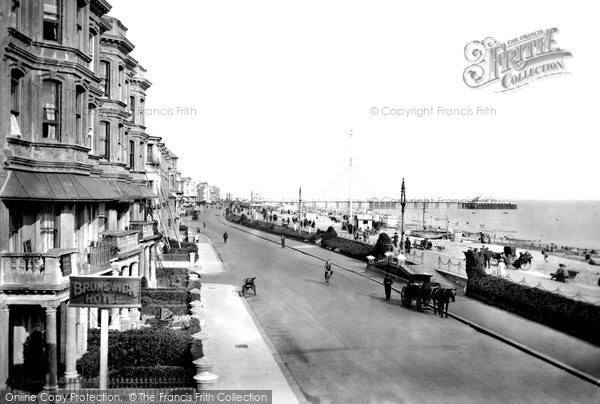 Photo of Worthing, View From West Parade 1919