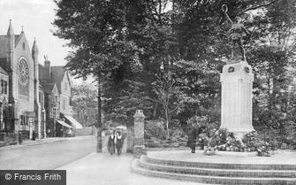 Worthing, War Memorial 1921
