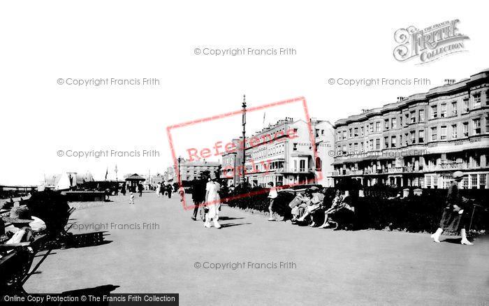 Photo of Worthing, Warnes Hotel 1925