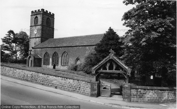 Photo of Wortley, St Leonard's Church c.1960