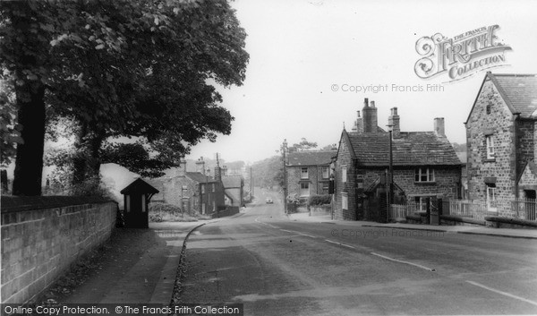 Photo of Wortley, The Village c.1960