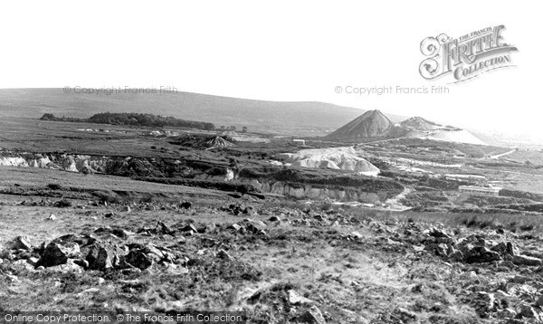 Photo of Wotter, The China Clay Pits c.1955