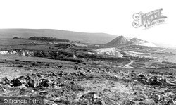Wotter, The China Clay Pits c.1955