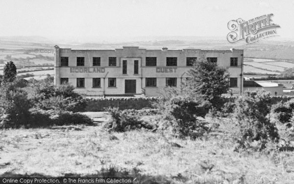 Photo of Wotter, The Moorland Guest House c.1955