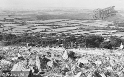 Wotter, View From The Moor c.1955