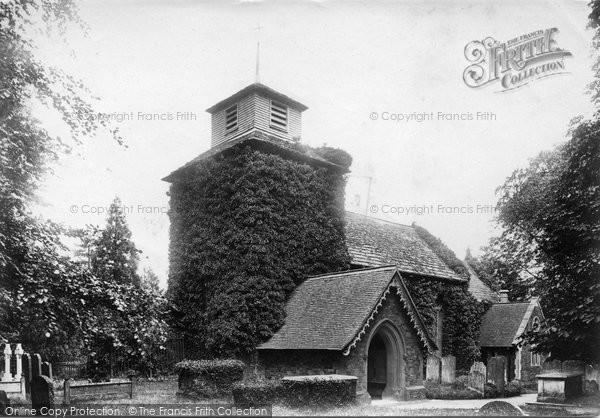 Wotton, the Church of St John the Evangelist 1904