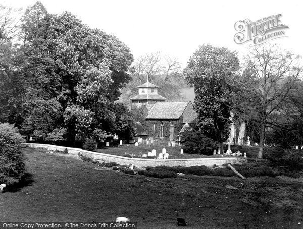 Wotton, the Church of St John the Evangelist 1919