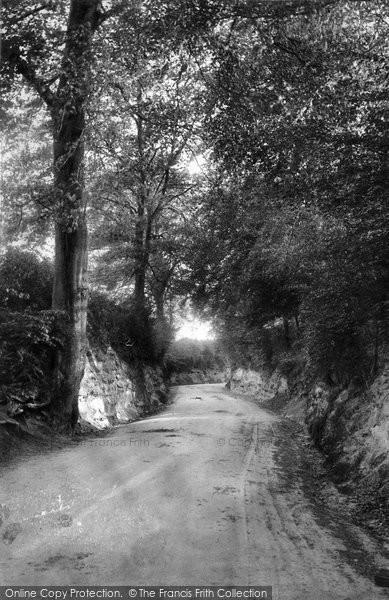 Photo of Wotton, Coast Hill 1906