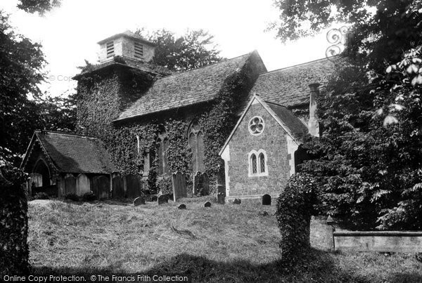 Wotton, the Church of St John the Evangelist 1890