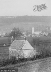 Wotton-Under-Edge, Church 1900